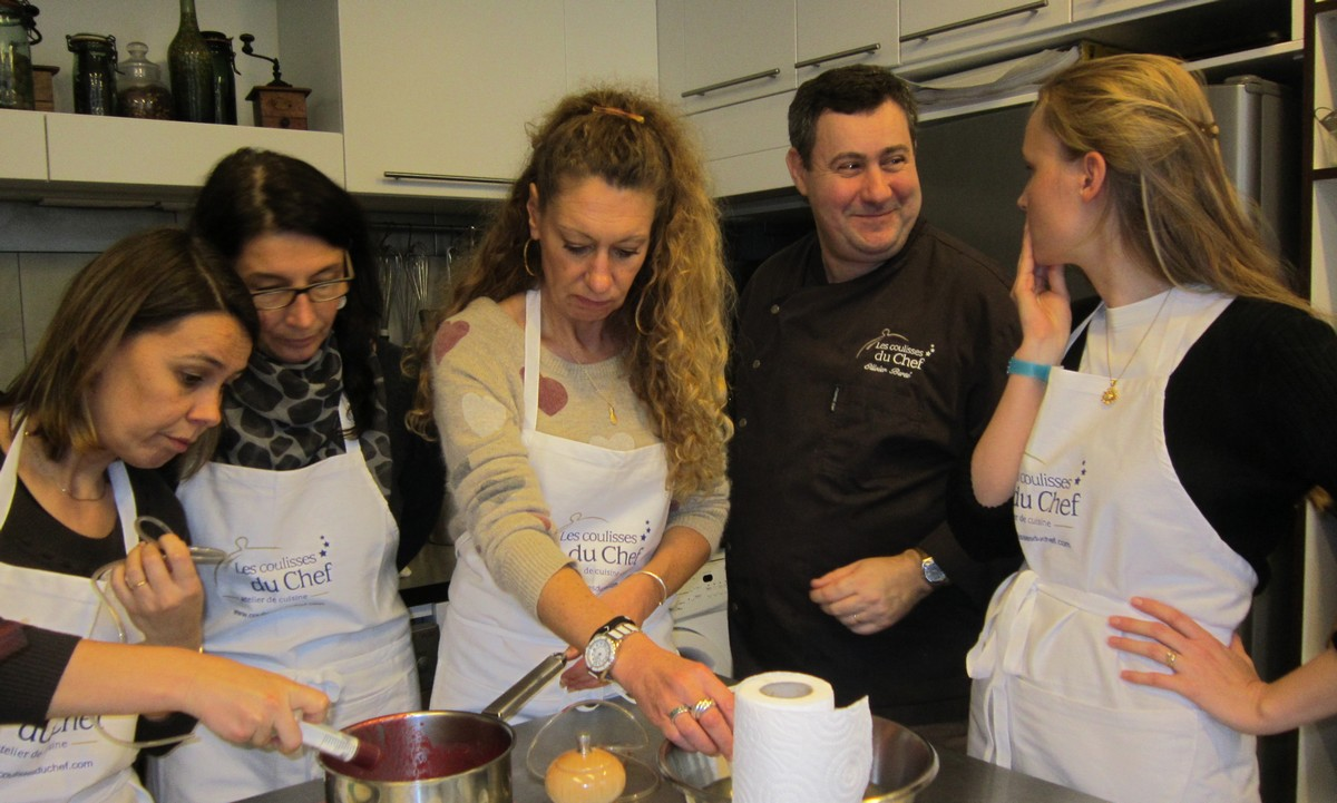 Le chef cours de cuisine paris - Cours de cuisine a deux paris ...